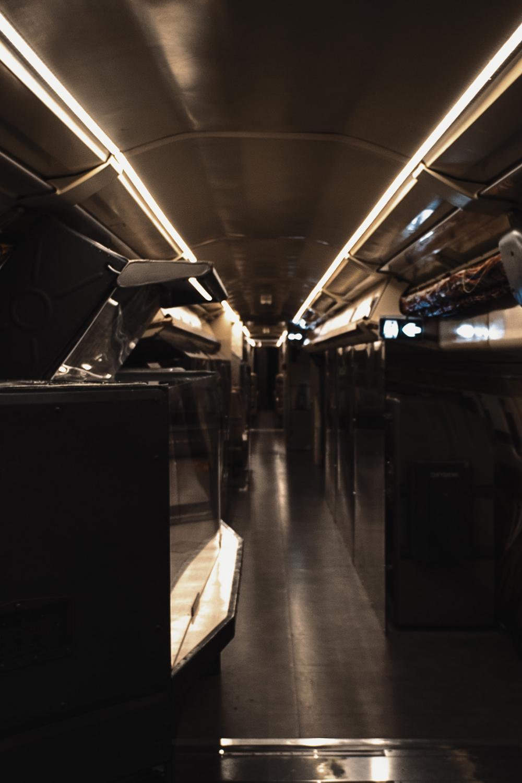 photo de l'intérieur de l'avion